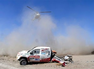 Accidentes Dakar 2011