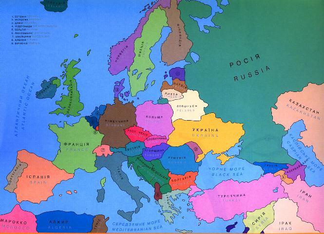 Google Map of Ukraine - Україна - Nations Online Project