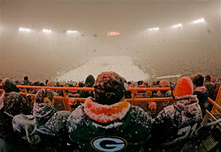 the frozen tundra of lambeau field