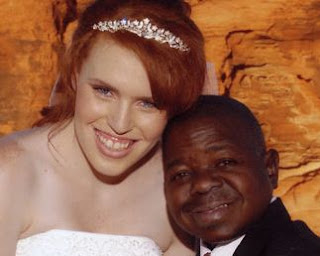 Gary Coleman and his wife Shannon Price