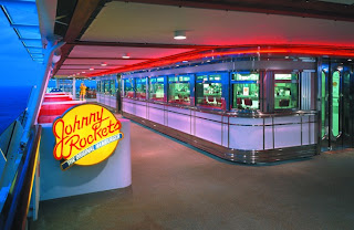 Mrs. Poop and I went to Johnny Rockets on our cruise ship and I had delicious root beer float.