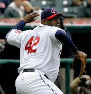 CC Sabathia one of the few black American pitchers wore 42