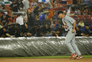 rain may have saved the Mets