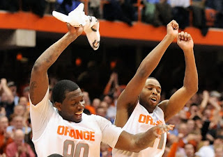 Scoop and Rick Jackson stepping up this season making SU the best team in the country