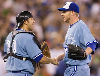 Roy Halladay pitches a 2-hit shutout, his 7th complete game of the year