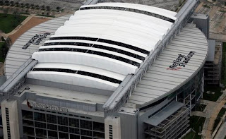 aerial view of Reliant Stadium