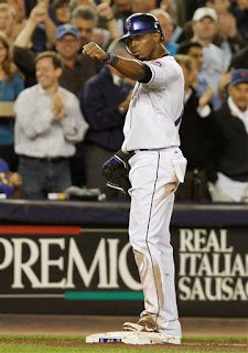I love all Reyes triples, but the best are the ones that come with the bases loaded