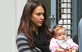 Jessica Alba and her daughter Honor