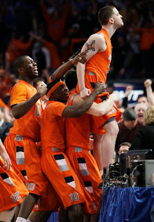 Devendorf's premature celebration