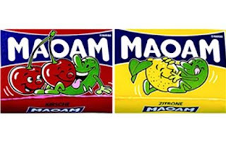 haribo MAOAM candies -- lemons and limes humping