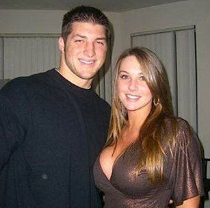 Erin Drewes claims she never fucked Tim Tebow.  Tim Tebow claims he never fucked anybody.  I have my doubts