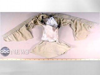 The underwear bomber's tattered singed underpants
