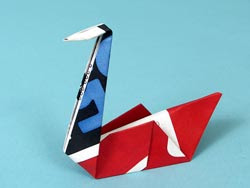 NetFlix Origami Swan