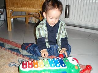 Christmas presents in Germany - Xylophone