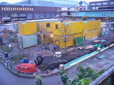 Eldon Square during the renovation