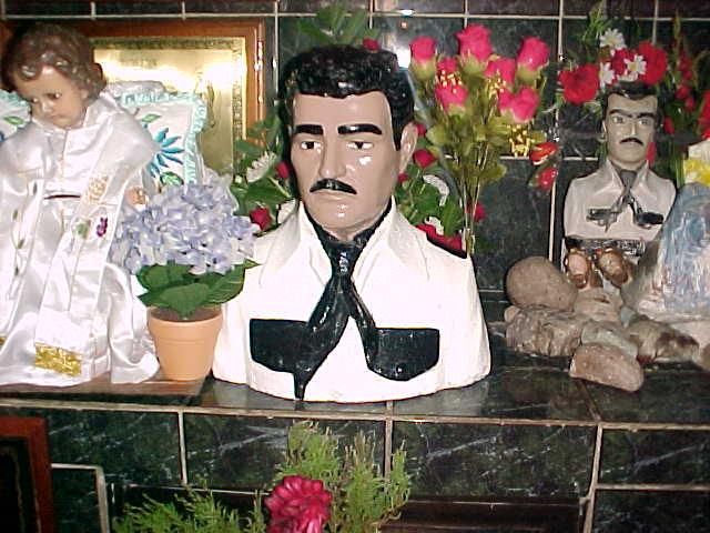 Jesús Malverde Juárez el Bandido Generoso y Milagroso de Culiacán