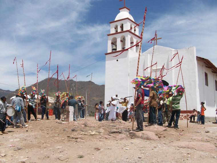 Listos para iniciar la procesión el viernes santo