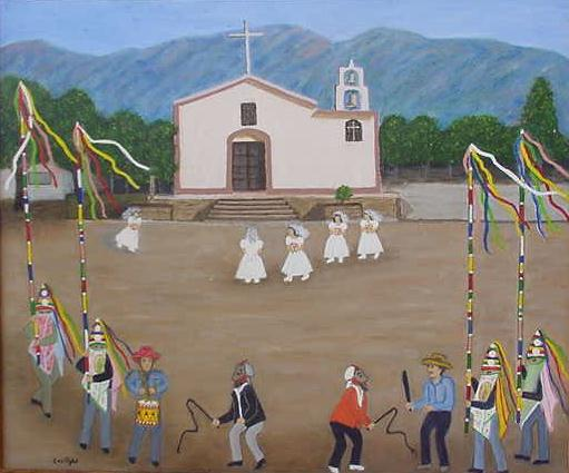 La fiesta de Semana Santa en San Francisco Tacuichamona
