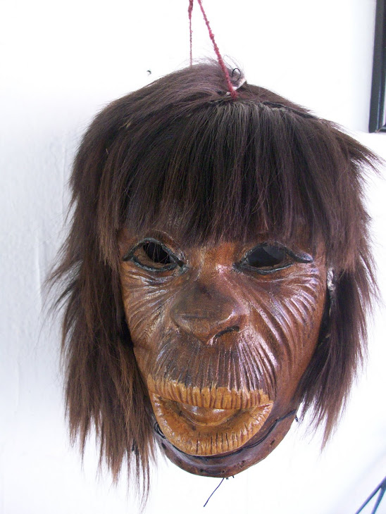 Máscara de indígenas Mayos