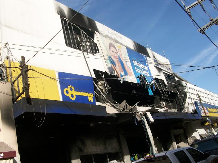 El incendio trágico de la tiendaCoppel Hidalgo