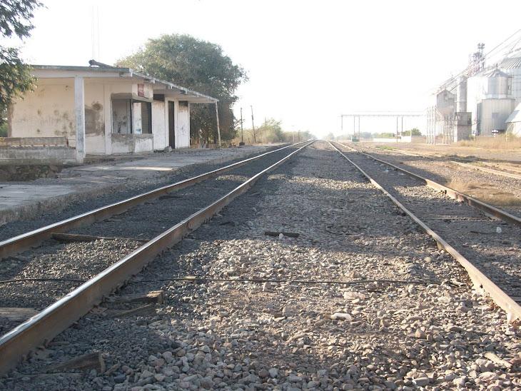 Antigua estación del ferrocarril ubicada en Quilá