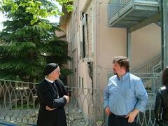 immagini dal territorio della parrocchia: la madre generale delle Suore Zelatrici del Sacro Cuore.