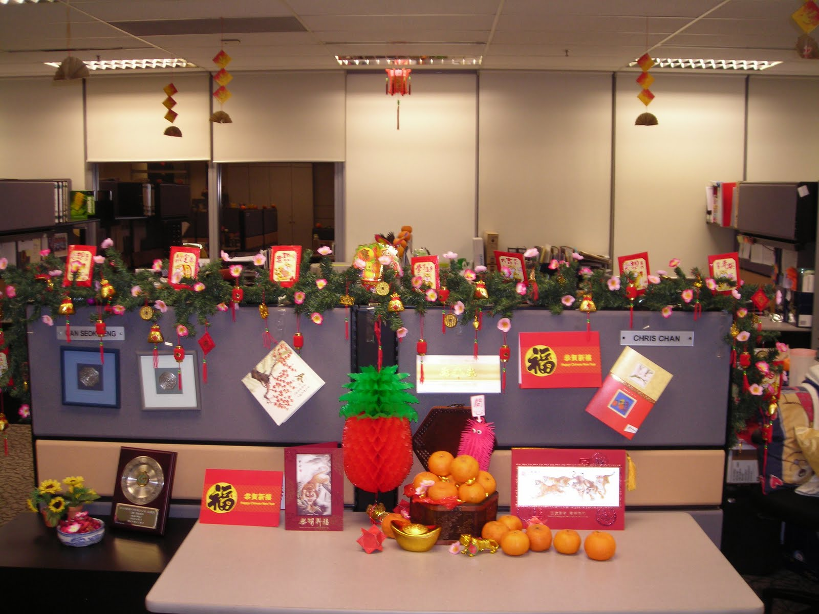 My Office CNY Deco Competition   My Level 10