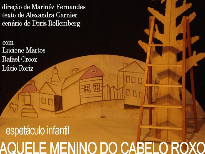AQUELE MENINO DO CABELO ROXO