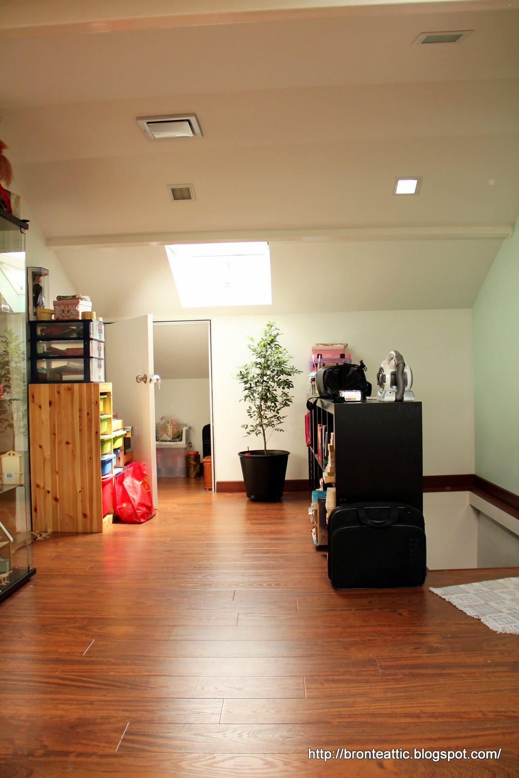 Attic Conversion New Study Room And Bedroom In Attic