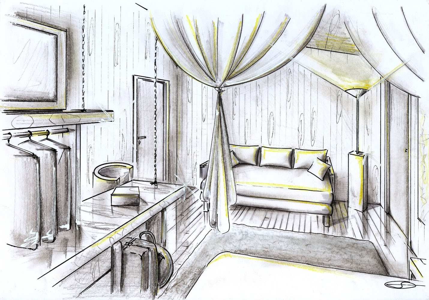 decoracao de interiores de casas de campo : decoracao de interiores de casas de campo:chalé acomoda 4 pessoas – uma cama de casal, com ar bem romântico
