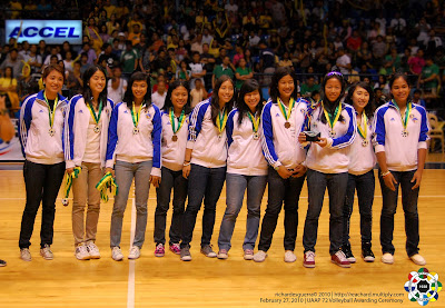 up against the feu lady tamaraws last sept. 1, uaap season 76 women