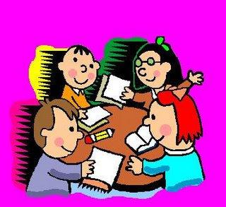 Caricaturas de niños estudiando - Imagui