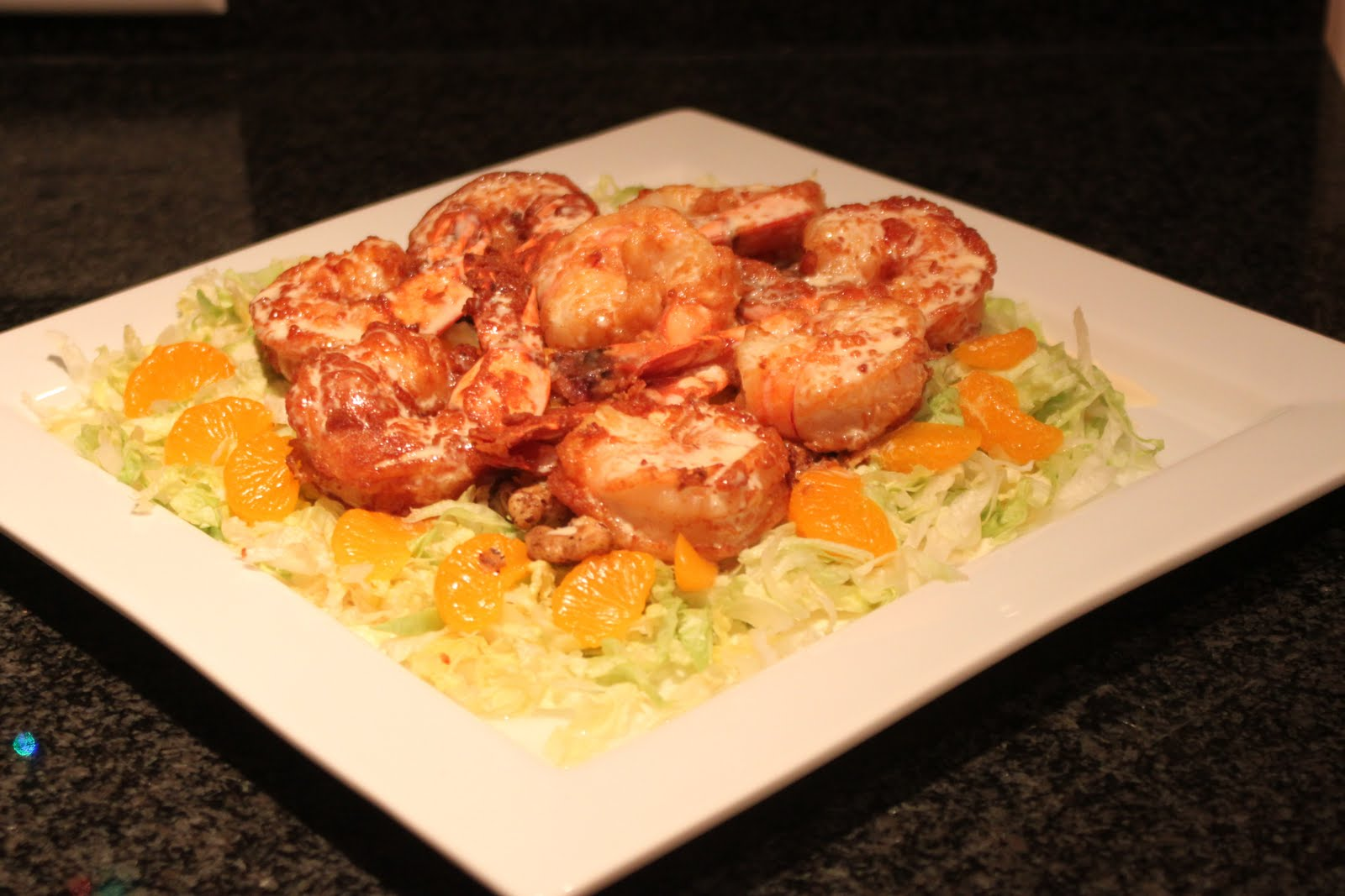 Fine Dining at Home: December 23 - Grand Marnier Shrimp