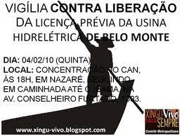 Luta Contra a Construção da Belo Monte