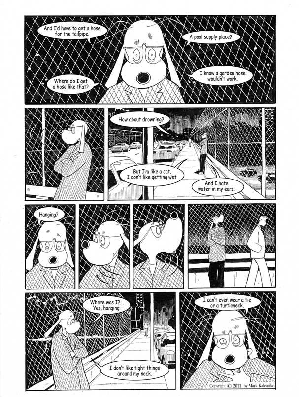 Stripovi o Alexu Kalienki i drugi radovi Marka Kalesnika Page-2-copy