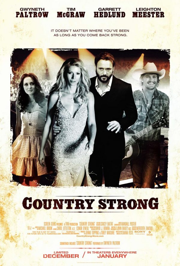 Country Strong  - recensione di Spaggy