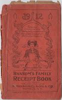 ransom family receipt book vintage