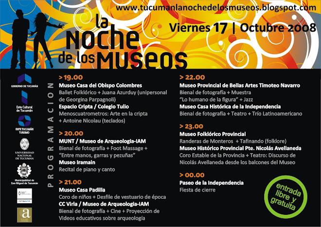 Tucumán La Noche de los Museos