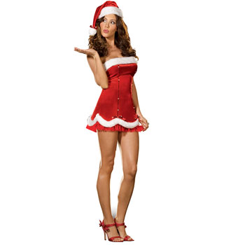 Latest Christmas Female Santa Costumes & Dresses Women