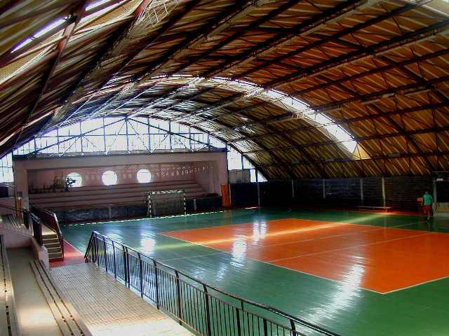 Sala de sport a clubului Unirea