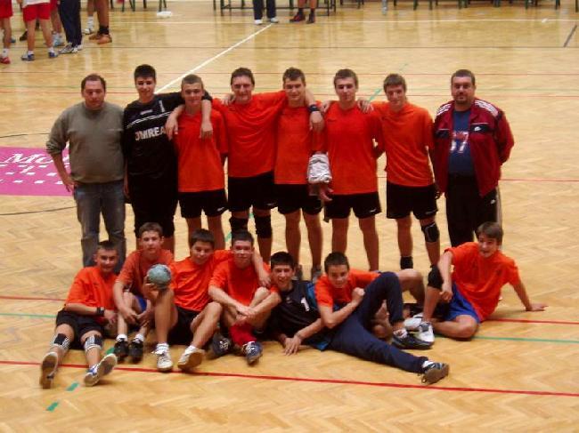 Echipa de handbal baieti Unirea