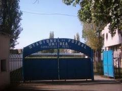 Intrare stadion Unirea