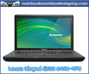 LENOVO IDEAPAD G550 2958 9PU 15.6 INCH NOTEBOOK