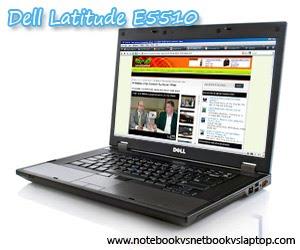 DELL LATITUDE E5510 NOTEBOOK - CORE I5 I5-430M 2.26 GHZ - 15.6