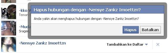 CARA HAPUS TEMAN DI FB FACEBOOK PESAN remove friend