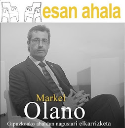 Markel Olano ESAN AHALA Berria telebistan