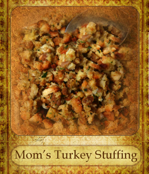 ... Wife - Keeping Christ at the Center of Marriage: Mom's Turkey Stuffing