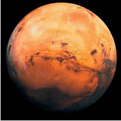 Mars & Earth -At The Closest Point in the History