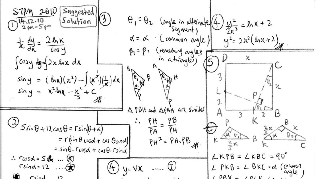 mathematics t coursework answers