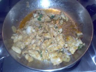 pollo funghi